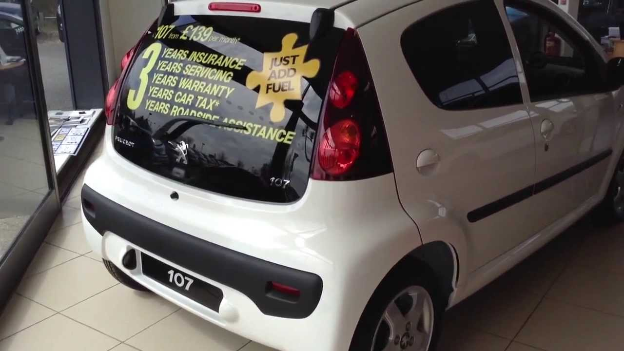 Peugeot 107 2013 In Depth Tour . - YouTube