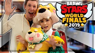 Brawlers IRL, VIP Brawl Stars Lounge, Korean BBQ, & Casting 2019's Brawl Stars World Finals!