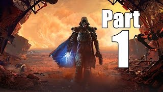 The Technomancer Gameplay Walkthrough Part 1- Initiation (XBOX ONE / PS4 Gameplay)