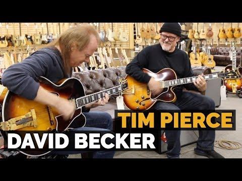 Tim Pierce & David Becker   1974 Gibson Byrdland & Gibson L-5 West Montgomery