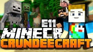 Minecraft: CRUNDEE CRAFT #11 - PIG METEOR TROLL