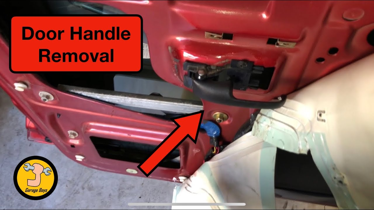 2000 2004 Ford Explorer Sport Trac Door Panel And Interior Door Handle Fix Youtube