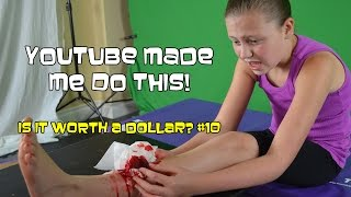 youtube made me do this   is it worth a dollar 10   bethany g