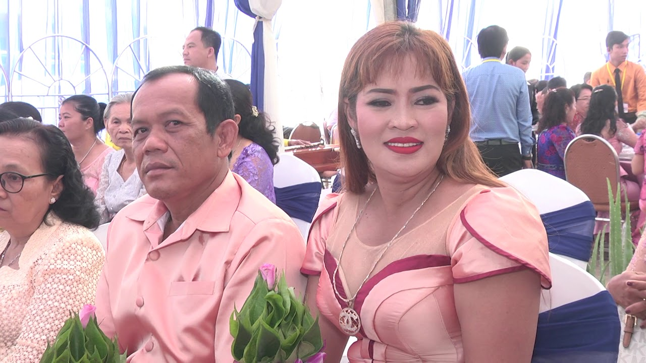 Marriage ceremony   Kim Sophanou and Steven R (Khmer marriage ceremony) Half 1