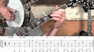 How to Play Fishers Hornpipe Melodic Banjo!