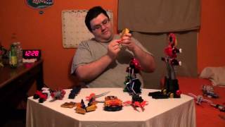 Power Rangers Samurai Gigazord Part 1