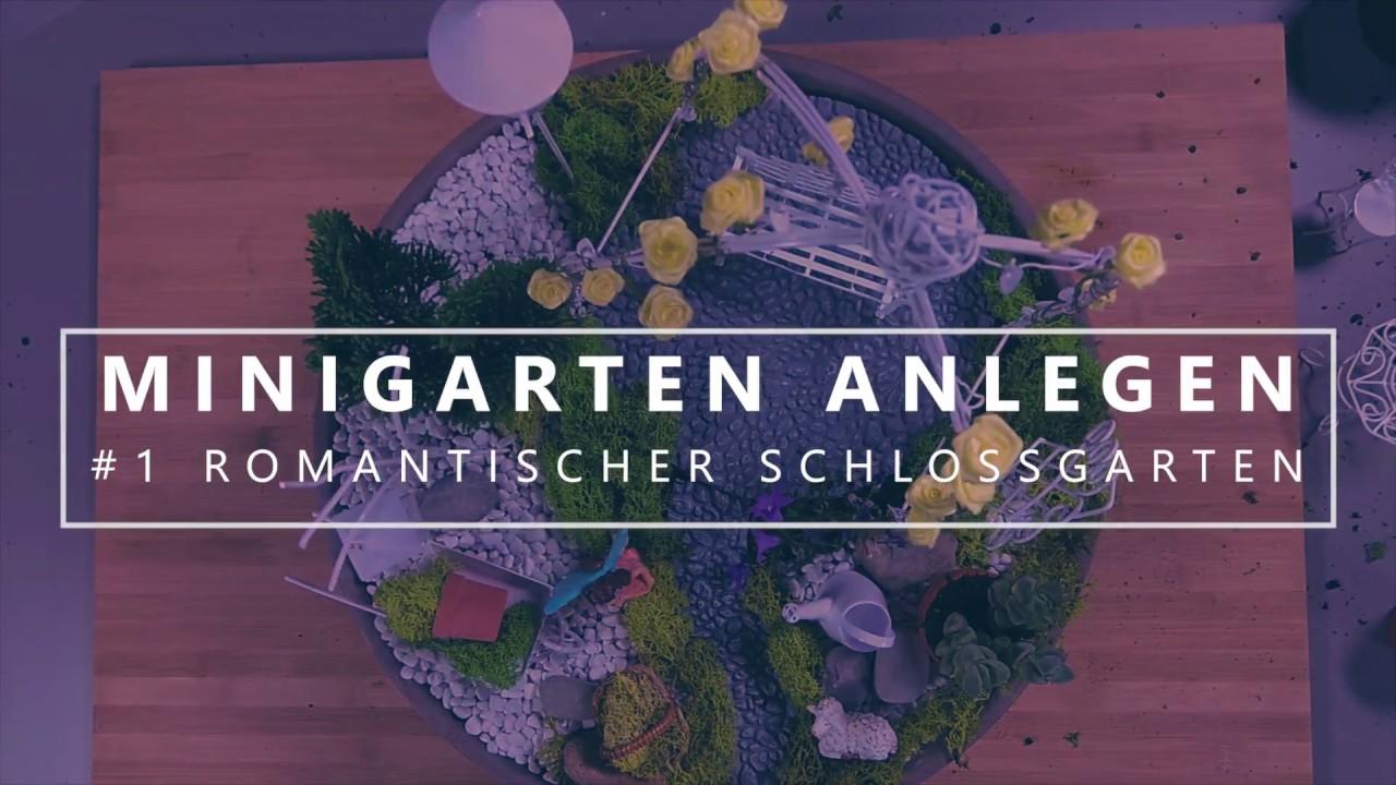 MINIGARTEN ANLEGEN / DIY FAIRY GARDEN ▷ Romantischer Schlossgarten   Garten  Und Freizeit.de