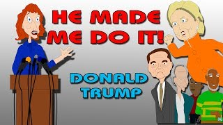 Kathy Griffin & Hillary Clinton Press Conference : Donald Trump Made Us Do It!