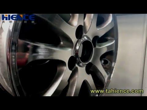 Horizontal Diamond Cutting Alloy Wheel Repair Machine Rim ...
