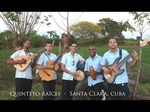 """SANTA CLARA  CUBA  - """"Quinteto Raíces"""" tocando y cantando música Cubana tradicional"""
