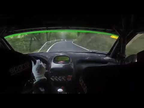 Onboard SS03 Morcin  Omar Fernández/ Marta Santiago Rallye Montaña Central 2019