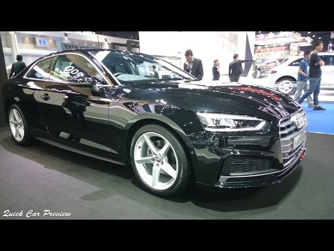 Quick Preview : 2017 Audi A5 Coupe 40 TFSI S-Line