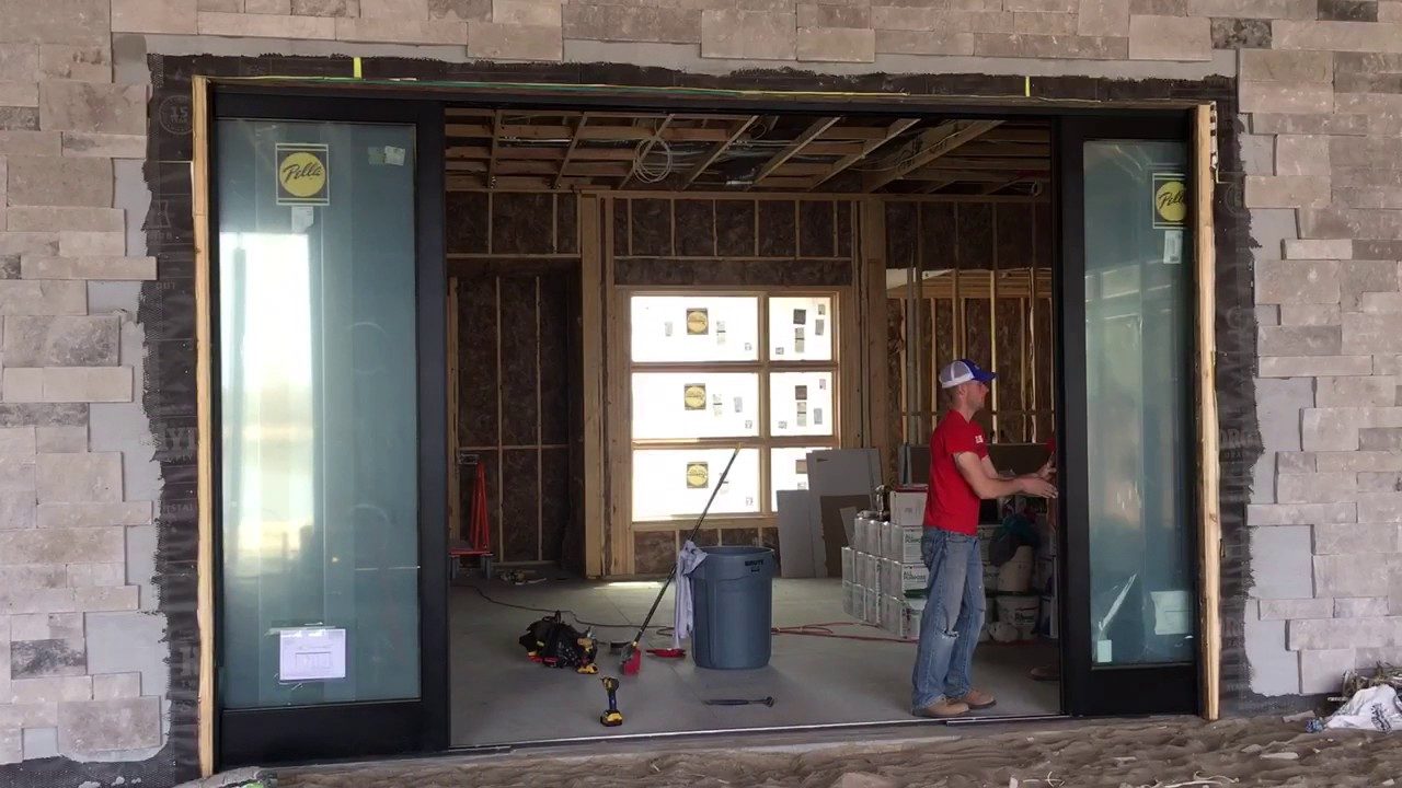 Pella Sliding Doors >> Quad Sliding Door - Pella Windows of Omaha & Lincoln - YouTube