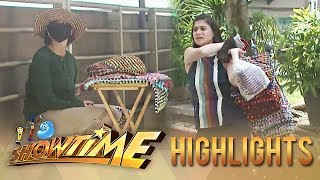 It's Showtime Lenten Special: Anne Curtis becomes a vendor for a day