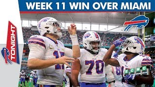 Breaking Down the Buffalo Win Over Miami Dolphins | Bills Tonight