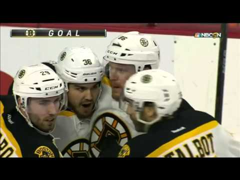 Bruins @ Flyers Highlights 01/13/16