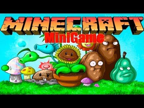 Plants vs Zombies 2 в Minecraft: Мини Игры - Затащили!