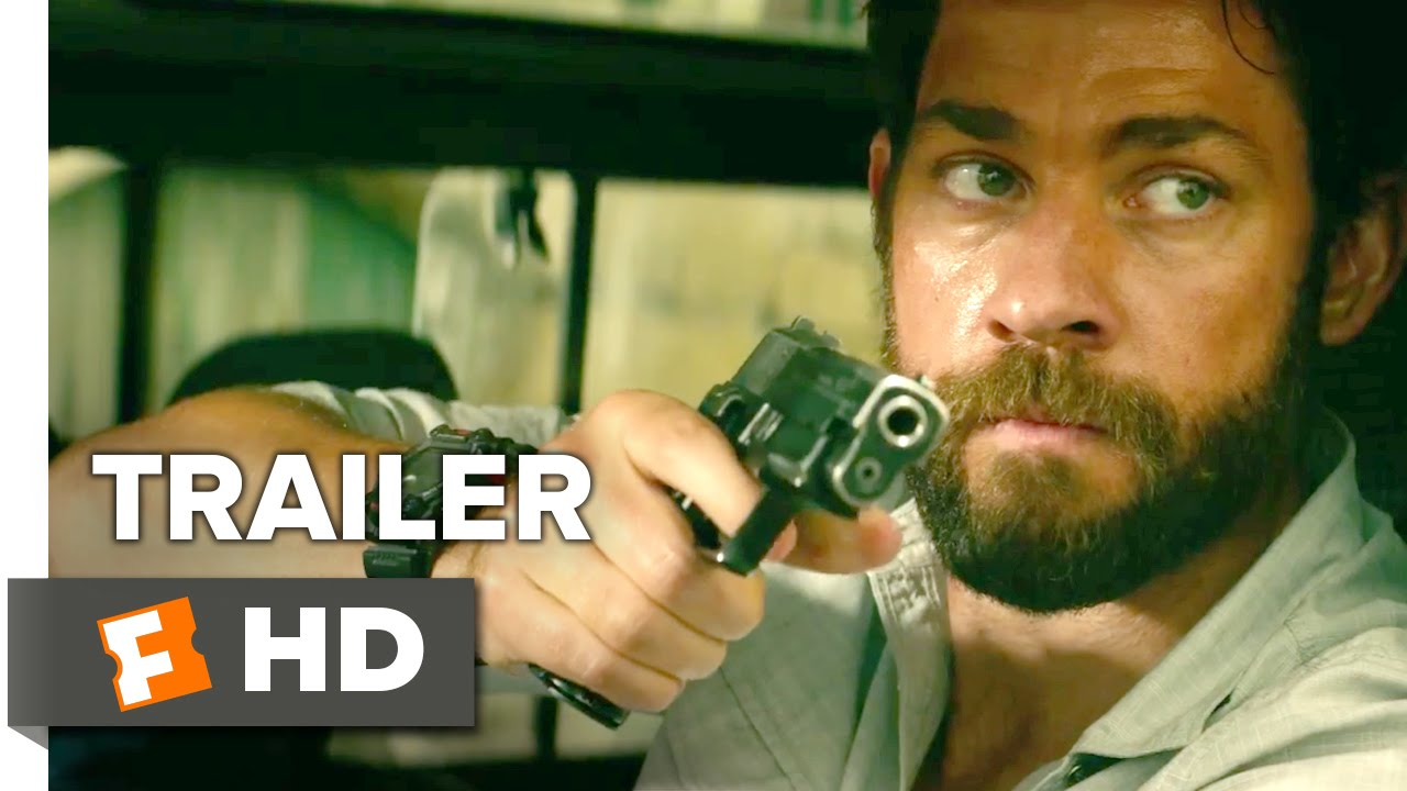Download 13 Hours: The Secret Soldiers of Benghazi Official Trailer #1 (2016) - John Krasinski Thriller HD