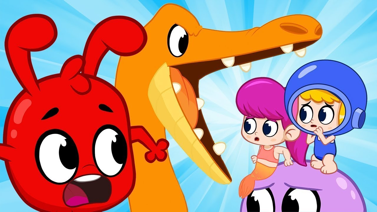 Scared of the Big Seamonster - My Magic Pet Morphle   Cartoons For Kids   Morphle's Magic Universe
