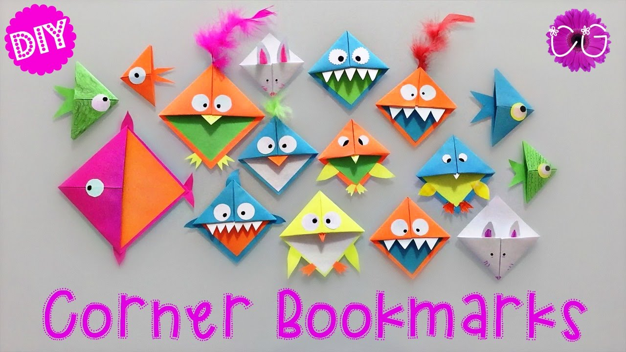Corner Bookmark Craft Ideas