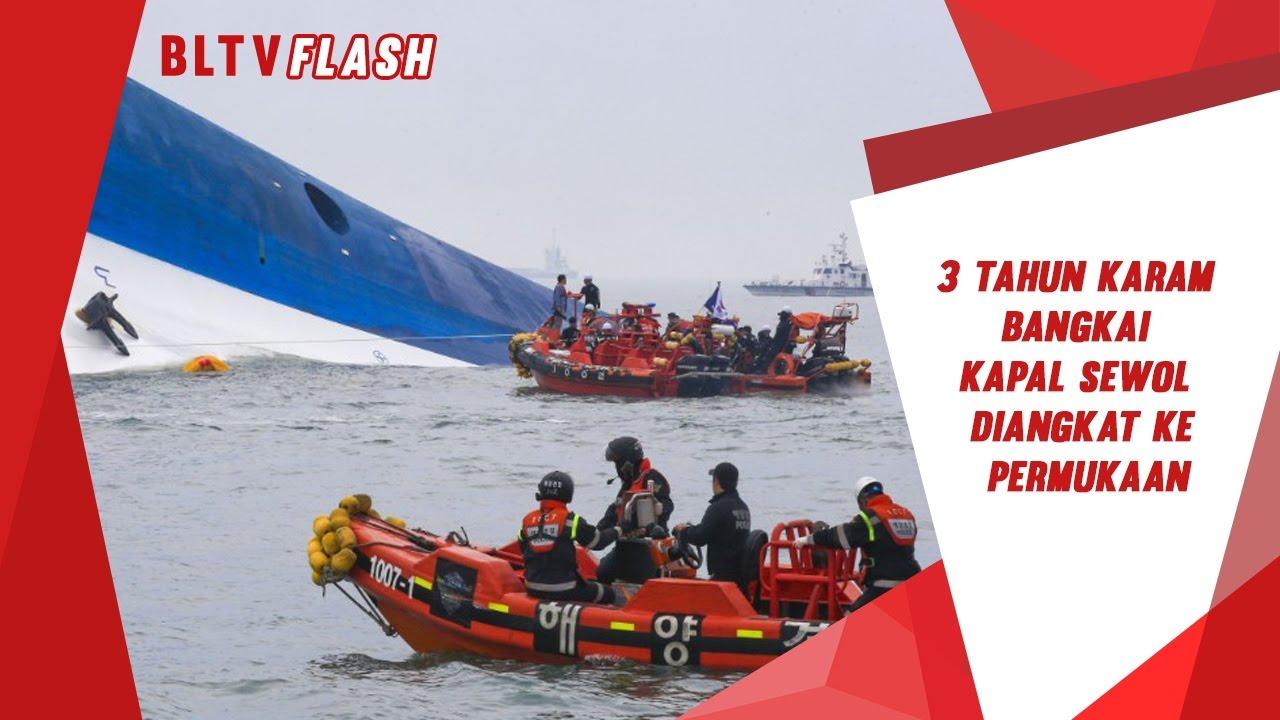 3 Tahun Karam, Bangkai Kapal