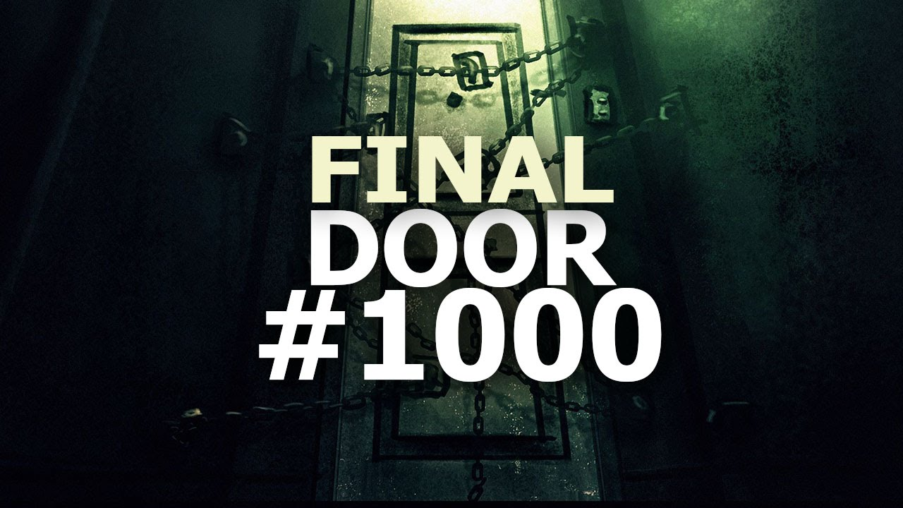 WHAT'S INSIDE THE FINAL DOOR? #1000 // Spookys House of ...