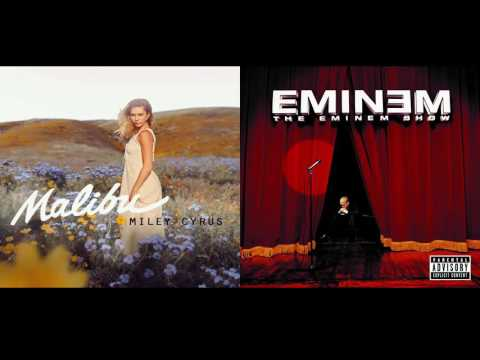 Miley Cyrus vs. Eminem - Malibu x Superman (Mashup)