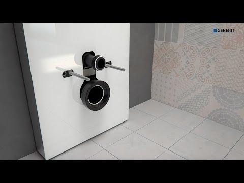 Geberit Monolith 2016 WC Wall drain - Installation