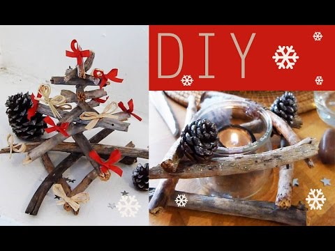 Diy d coration de no l d co de table faire soi m me for Youtube decoration de noel