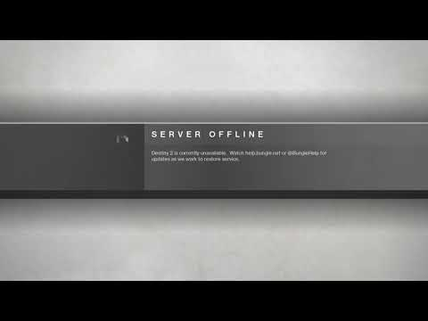 Destiny 2 Servers Offline. Why, watch this video!!
