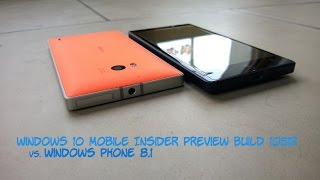 Windows 10 Mobile Insider Preview Build 10512 vs Windows Phone 8.1: Speed Comparison