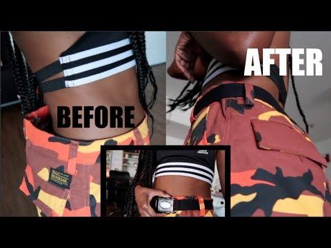 BAGGY PANTS? NO PROBLEM! DIY Buckle Belt!!
