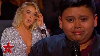 Kid_Singer_Gets_GOLDEN_BUZZER_From_His_FAVOURITE_Judge_On_America's_Got_Talent_|_Got_Talent_Global
