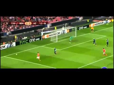 Benfica vs AZ Alkmaar 2 0 2014 ~ All Goals & Highlights ~ Europa League 2014