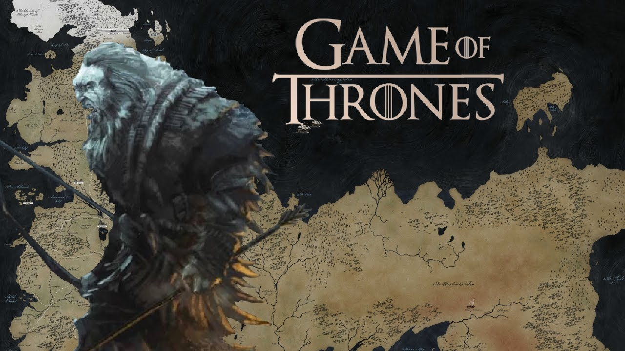 Entire Game Of Thrones Map World Detailed Youtube
