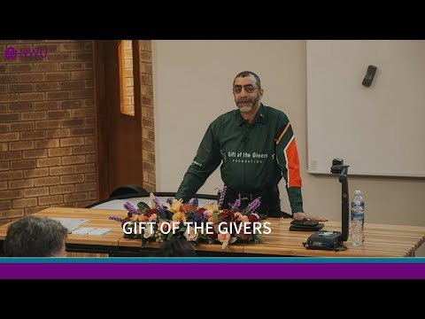 Gift of the Givers: Dr Imtiaz Sooliman