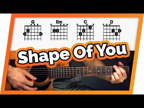 Shape of You Guitar Tutorial (Ed Sheeran)Easy Chords Guitar Lesson