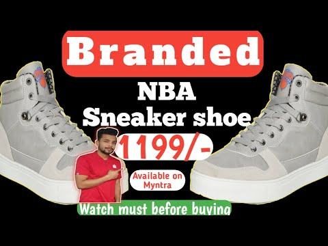 🔥🔥 Cheapest And Best Shoe For Men 🔥🔥 NBA Sneakers  | Only 1199/- On Myntra. Dev Talks