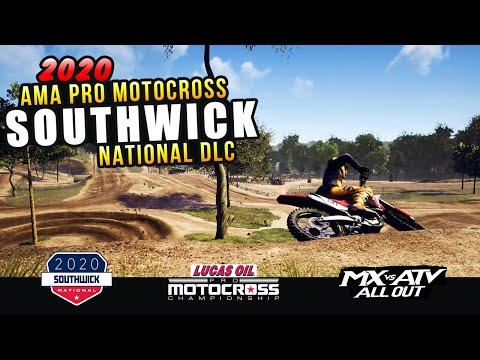 2020 SOUTHWICK! (The Wick 338) - AMA Pro Motocross Championship DLC - MX Vs ATV All Out