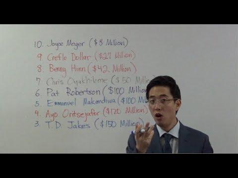 Top 10 Richest Pastors From Satan – Who? | Dr. Gene Kim