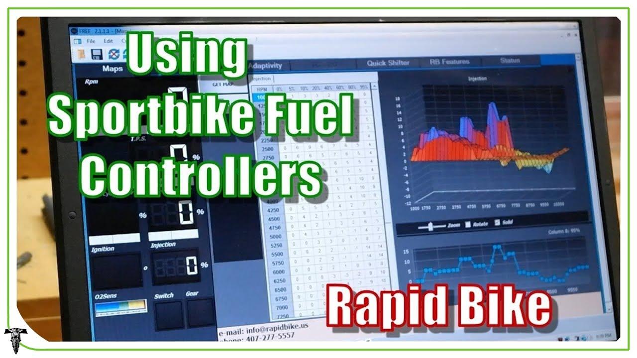 Sportbike Exhaust Fuel Map Tuning | Rapid Bike ECU for Z650