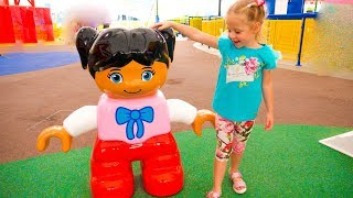 Amusement park Legoland Dubai for kids Family Fun trip