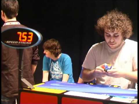 Speedcubing final 3x3x3 NEMO Amsterdam 2011