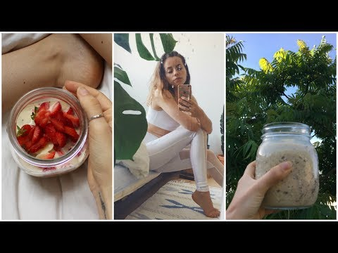 A day in the life of a Yoga Teacher // What I do and eat (vegan) // Follow me around 💗