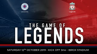 LIVE: Rangers Legends v Liverpool Legends