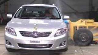 Toyota Corolla (2007 model) Crash Test Video