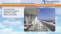 Norderney: Ferienwohnung-Appartement Seekiste, Meerblick 1. Reihe, Balkon - FeWo-direkt.de Video