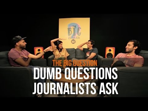 SnG: Dumb Questions Journalists Ask feat. Kubbra Sait | Big Question S3 Ep6