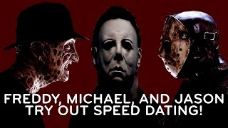 Speed Dating with Horror Movie Killers - PARODY