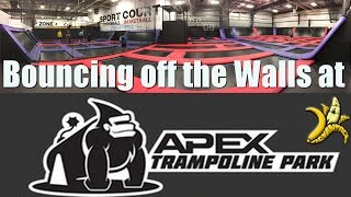 Trampoline Park fun at Apex in Saskatoon!
